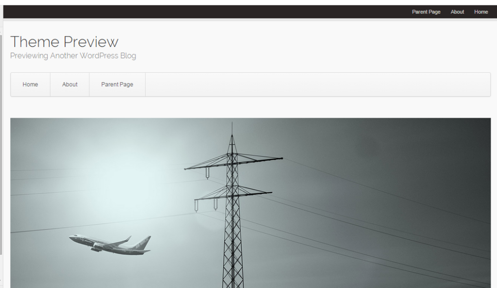 WordPress › Aviator « Free WordPress Themes