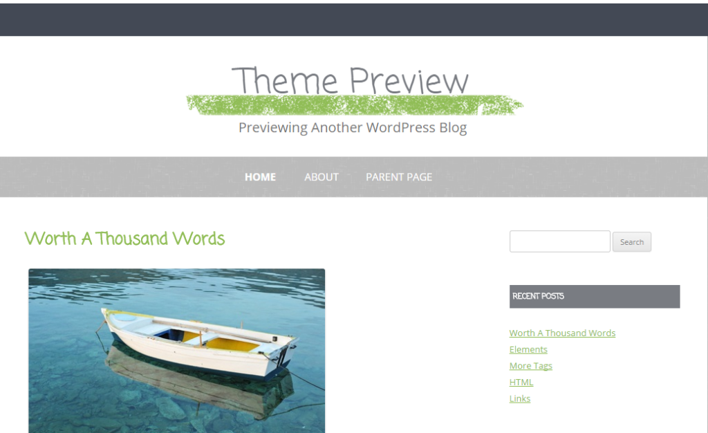 WordPress › Gray Chalk « Free WordPress Themes