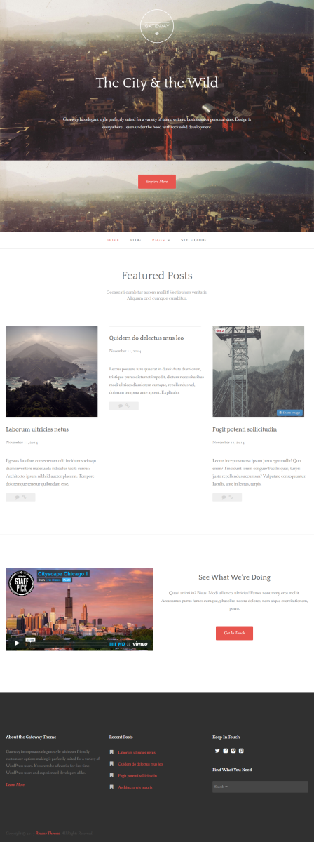 FireShot Capture - Gateway I A WordPress theme to get you s_ - http___demo.rescuethemes.com_gateway_