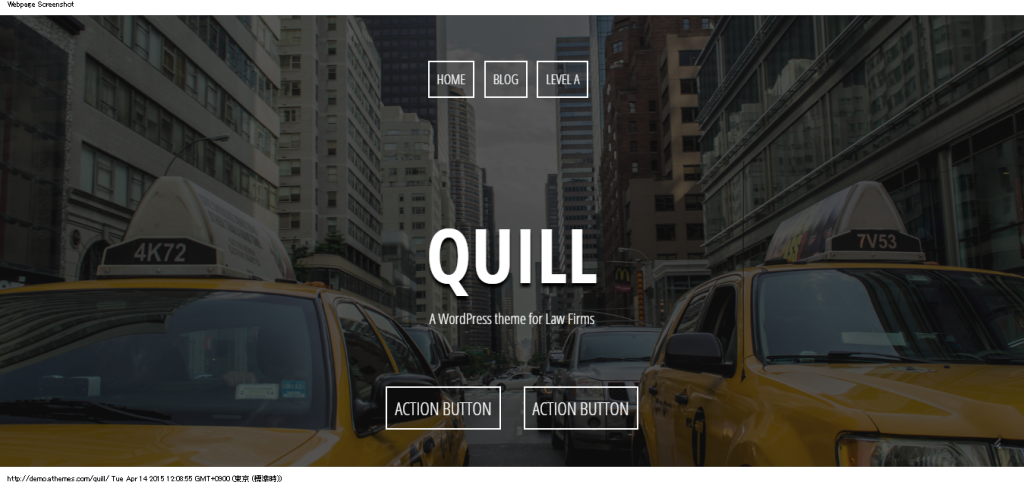 Quill   A WordPress theme for Law Firms
