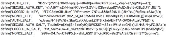 秘密鍵用のパスワード